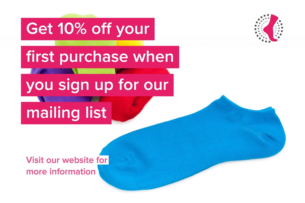 Get 10% Off Your First Order with PilatesSocks.co.uk